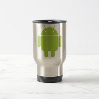 tasse androïde de voyage