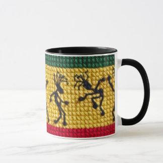 tasse animée de danse de reggae