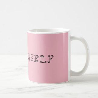 Tasse assez rose