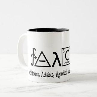 Tasse athée de coffe de groupe de FAACT