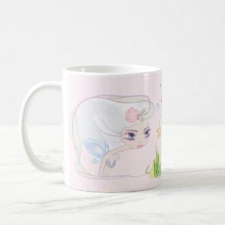 tasse avec cartoon, pour fille