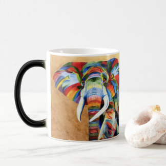 Tasse avec la conception d'éléphant