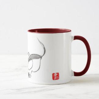 Tasse avec une souris
