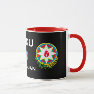Tasse Bakı Azərbaycan   Fincan de Baku*