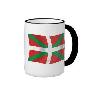 Tasse Basque de drapeau de personnes