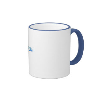 Tasse bleu-clair de sonnerie de ShinySho