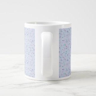 Tasse bleue de conception de peinture