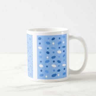 Tasse bleue de soucoupe en Motherwell