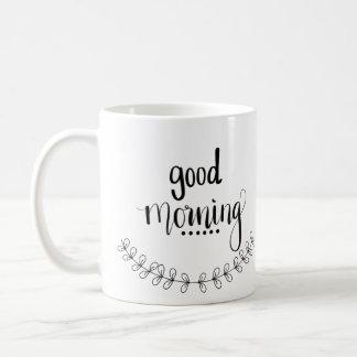 Tasse bonjour