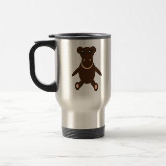 Tasse bourrée de jouet de singe