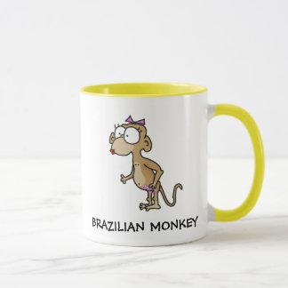 Tasse brésilienne de singe