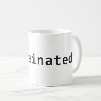 Tasse caféinée