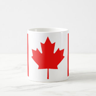 Tasse canadienne de feuille d érable