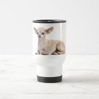 Tasse canine de voyage de chiot de chiwawa