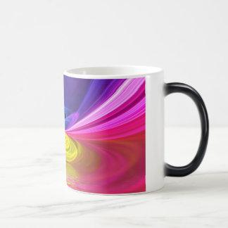 Tasse changeante de couleur