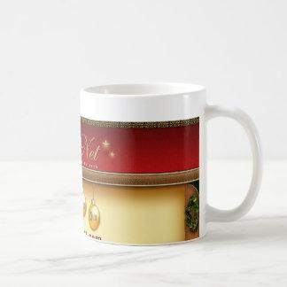 Tasse chaude de cacao de membre de ClausNet