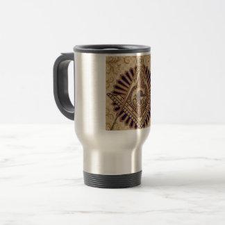 Tasse chaude maçonnique