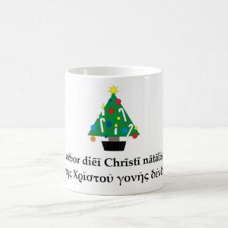 Tasse classique d'arbre de Noël