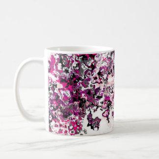 Tasse classique de concepteur de jolies roses