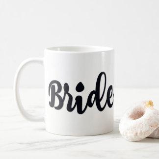 tasse classique de jeune mariée de 11 onces