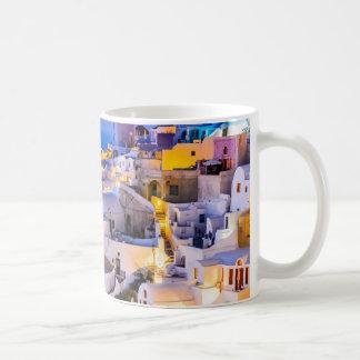Tasse classique Oia Santorini