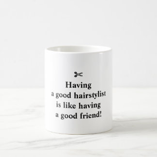 Tasse classique pour les stylistes en coiffure