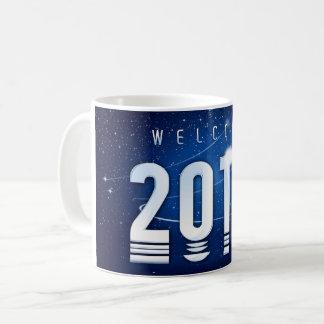 Tasse classique spéciale de nouvelle année
