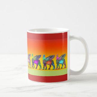 Tasse colorée assyrienne 1 de Lamassu