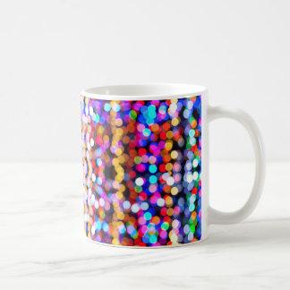 Tasse colorée de Bokeh