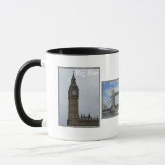 Tasse combinée de panneau de Londres 3