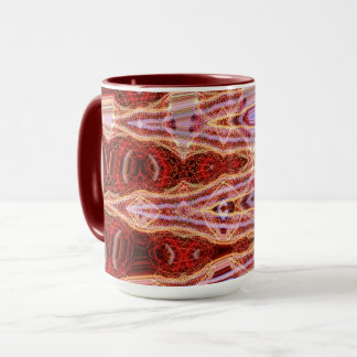 Tasse combinée de point sanguin par l'artiste C.L.