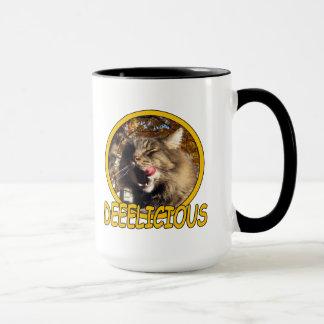 Tasse combinée de tasse de Kitty de chat de