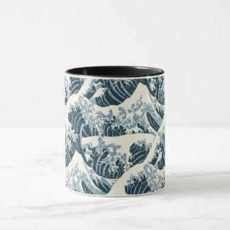Tasse combinée - la vague de Hokusai