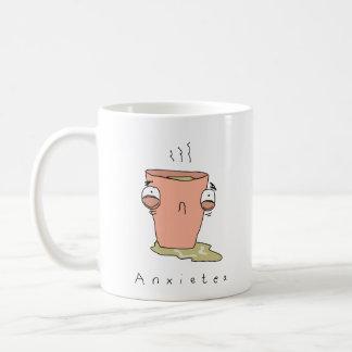 Tasse comique drôle de thé d'Anxietea |