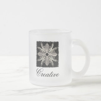 Tasse créative d'art de fractale