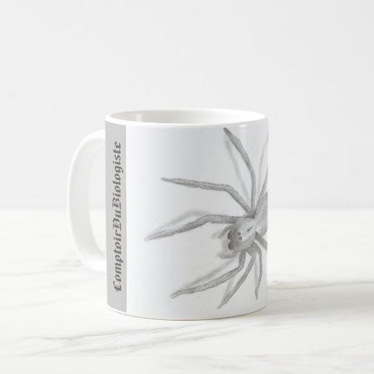 Tasse (cup) Arachnide esquisse