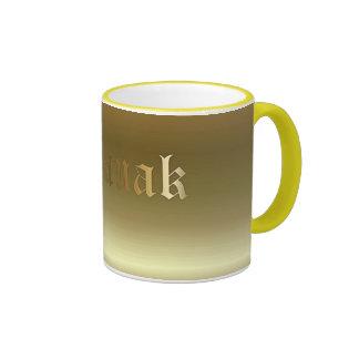 Tasse d or de sonnerie de Noël Basque