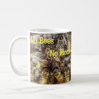 Tasse d'abeilles