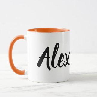 tasse d'Alex