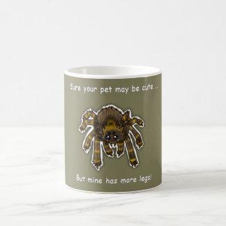 tasse d'amant d'araignée