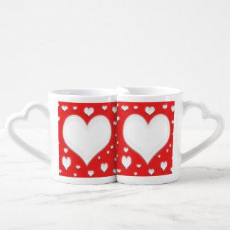 Tasse d'amour de jour de Valentines
