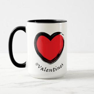 Tasse d'amour de jour de Valentines !