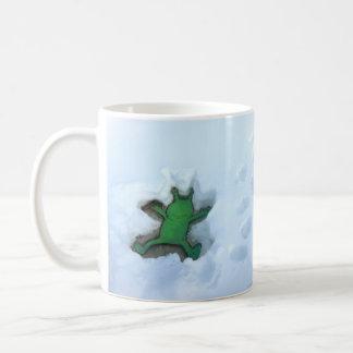 tasse d'ange de la neige des sluggo
