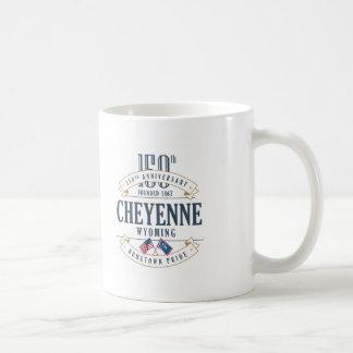 Tasse d'anniversaire de Cheyenne, Wyoming 150th