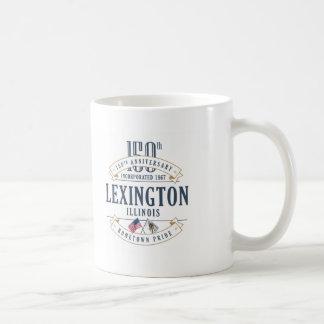 Tasse d'anniversaire de Lexington, l'Illinois