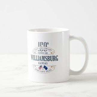 Tasse d'anniversaire de Williamsburg, le Kansas