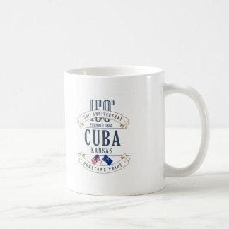 Tasse d'anniversaire du Cuba, le Kansas 150th