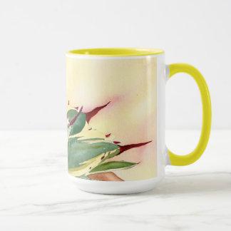 Tasse d'aquarelle d'agave par Debra Lee Baldwin