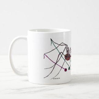 Tasse d'araignée et de fil