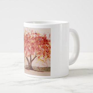 Tasse d'arbre d'automne